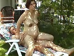 Man fucking pregnant woman outdoor